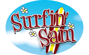 Surfin Sam Logo Oval